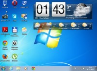 Windows 7 Ultimate SP1 Октябрь + soft (RU2013)