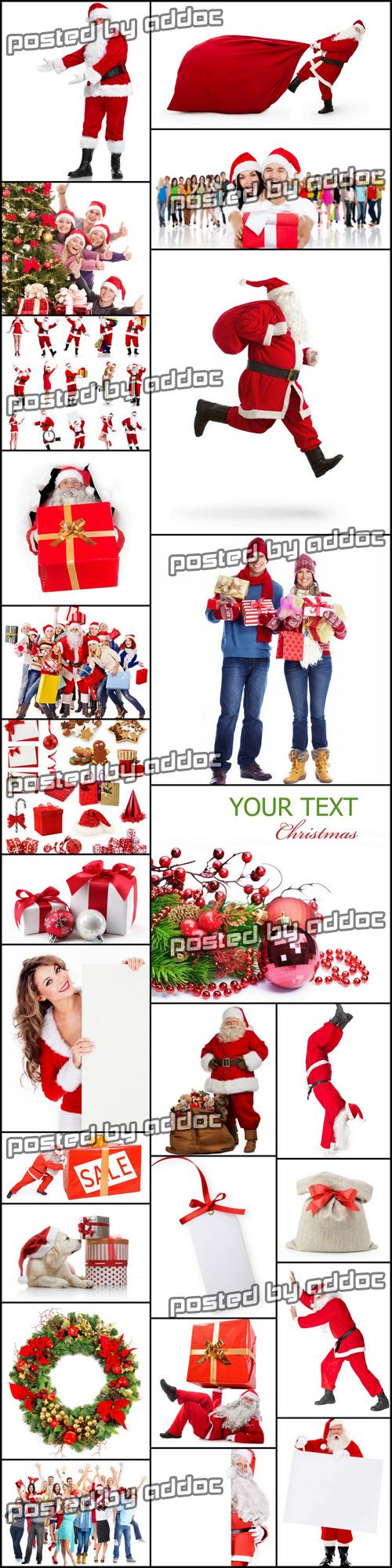 Stock Photos - Christmas on White Background