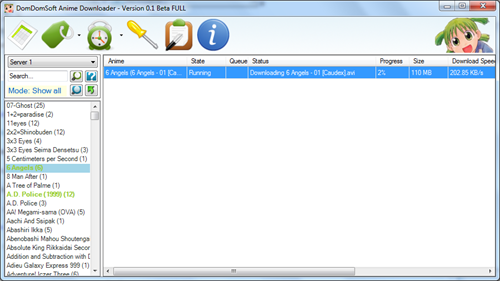 DomDomSoft Anime Downloader 1.3