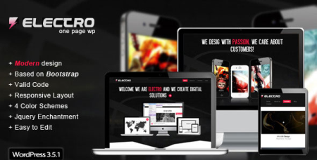 Electro - Themeforest Responsive WordPress Theme