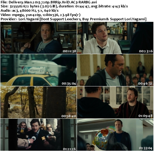 Delivery Man 2013 720p BRRip XviD AC3-RARBG