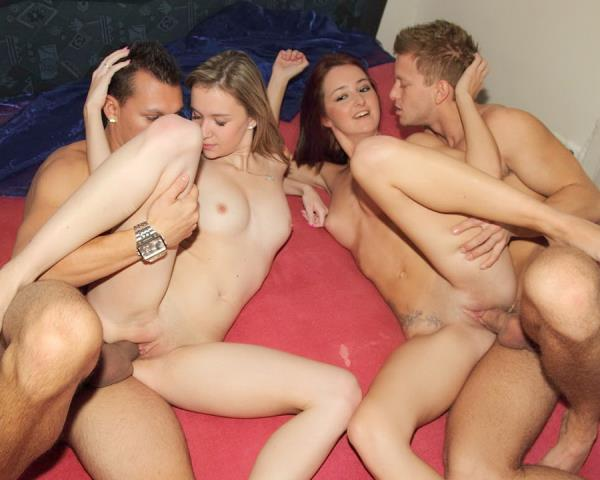 YoungSexParties - Mika, Angella - Hot Jocks Fuck Teen Cuties [HD 720p]