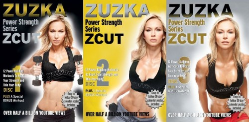 ZCUT Power Strength / Cardio Series with Zuzka Light 3 DVD Set 2013 x264 aac MP4