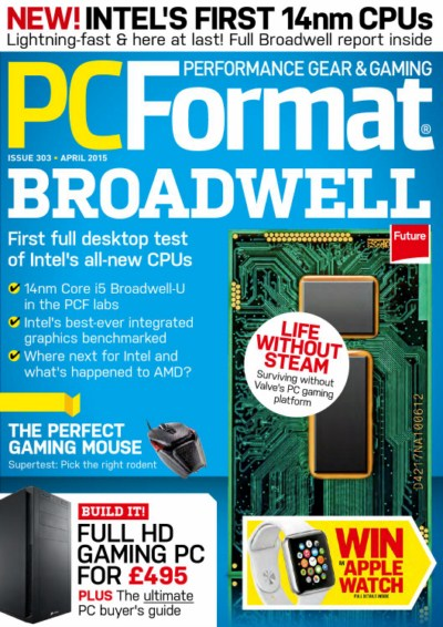 PC Format - First Full Desktop test of intels all New CPUs (April 2015)