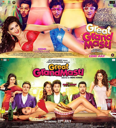 Great Grand Masti 2016 1CD DVDScr x264-DDR