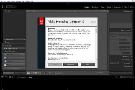 Adobe Lightroom ( v.5.2, 2013 )