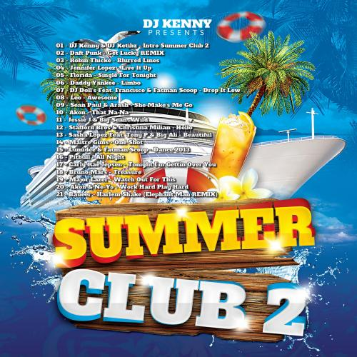DJ Kenny - Summer Club Vol.2 (2013)
