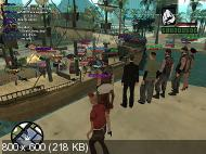 GTA / Grand Thet Auto: San Andreas [MultiPlayer v0.3x] (2011) PC | RePack by Alexey Boomburum