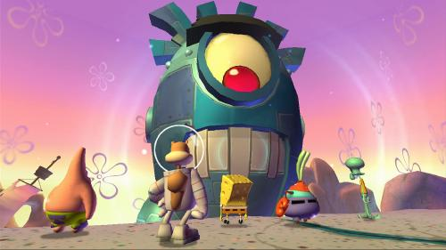 SpongeBob SquarePants: Plankton's Robotic Revenge (Xbox360/RUSSOUND)