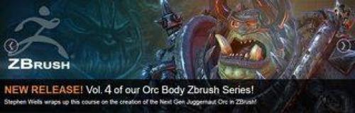3DMotive - Orc Body ZBrush Series Vol 4