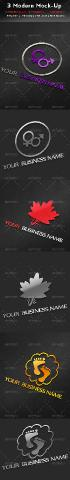GraphicRiver - 3 Modern Mock-Up