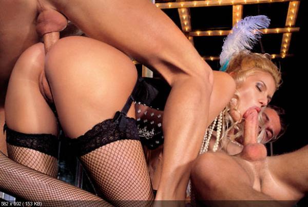 Порно в гламурных стрингах