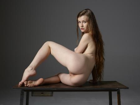 Hegre-Art: Emily - Table Poses Part One