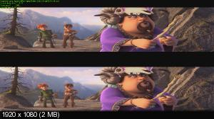 ������� � ������ �������� / Justin and the Knights of Valour (2013) BDRip 1080p | 3D-Video