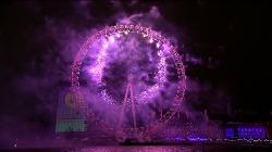 Новогодний фейерверк в Дубае и Лондоне (2014/HDTV)