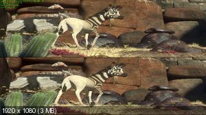 Без черных полос (На весь экран) Кумба 3Д / Khumba 3D ( by Ash61) Вертикальная анаморфная