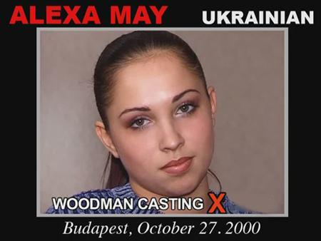 Девятнадцатилетняя украинка проходит кастинг