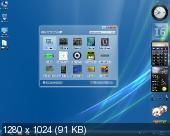 Windows 7 SP1 x64 Ultimate Black Dark Aero by Qmax