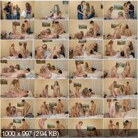 YoungSexParties - Karen, Dasha - Nothing Better Than A Birthday Orgy [HD 720p]