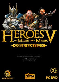 Heroes of might and magic v. gold edition (2007, pc)