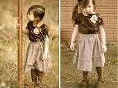 Маленький сарафанчик можно перешить в нарядную летнюю юбочку такая простая переделка вещей, позволит вам сэкономить...