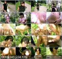 PickupFuck - Aida - Seducing A Girl In The Park [SD]