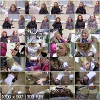 PickupFuck - Pamela - Public Restroom Sex With Pretty Babe [HD 720p]