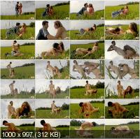 TeenDorf - Aneta - Fucking In The Field With A Young Girl [HD 720p]