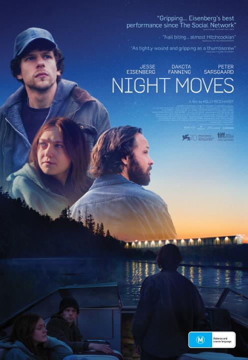 Night Moves (2013) PL.720p.BRRip.XviD.AC3-KLiO / Lektor PL