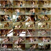 TeenDorf - Irenka - Hot Sex On A Farm With A Beautiful Young Girl [HD 720p]