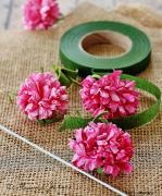 Цветы из мешковины, джута, шпагата 61e4657a0a0a87109ae3dfe3b5d30659