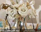 Цветы из мешковины, джута, шпагата 77dc54410f72c9783d465833cd20e881
