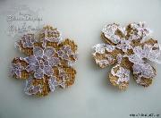 Цветы из мешковины, джута, шпагата D47bfb1f3f73bc30af85e9ead30ede47