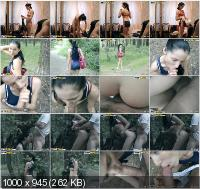 PrivateSexTapes - Yulia - Wild Anal Slut Owned In The Forest [SD]
