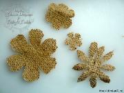 Цветы из мешковины, джута, шпагата Af4942ddea23f3f18154ec55dee9fac0