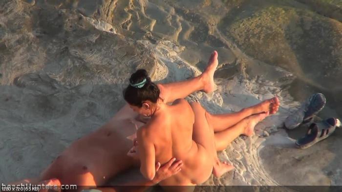 порно пляж кабинки